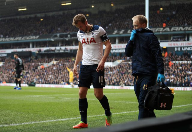 Spurs midfielder Harry Winks taken to hospital after injuring ankle at Burnley