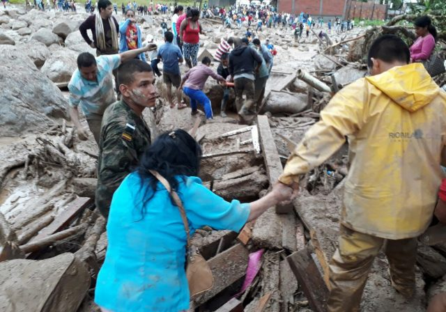 Deluge kills at least 190 in Colombia