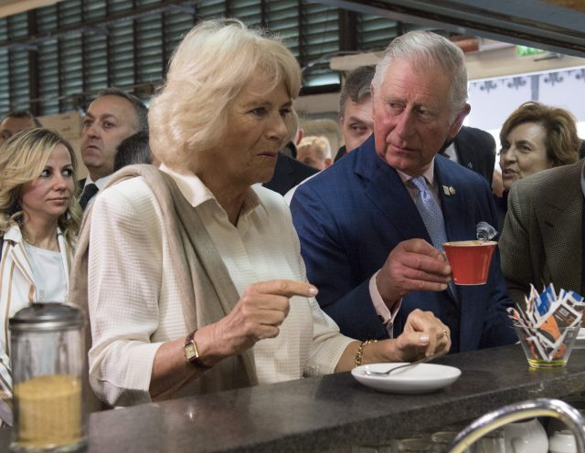 UK's Prince Charles visits quake-hit town in central Italy