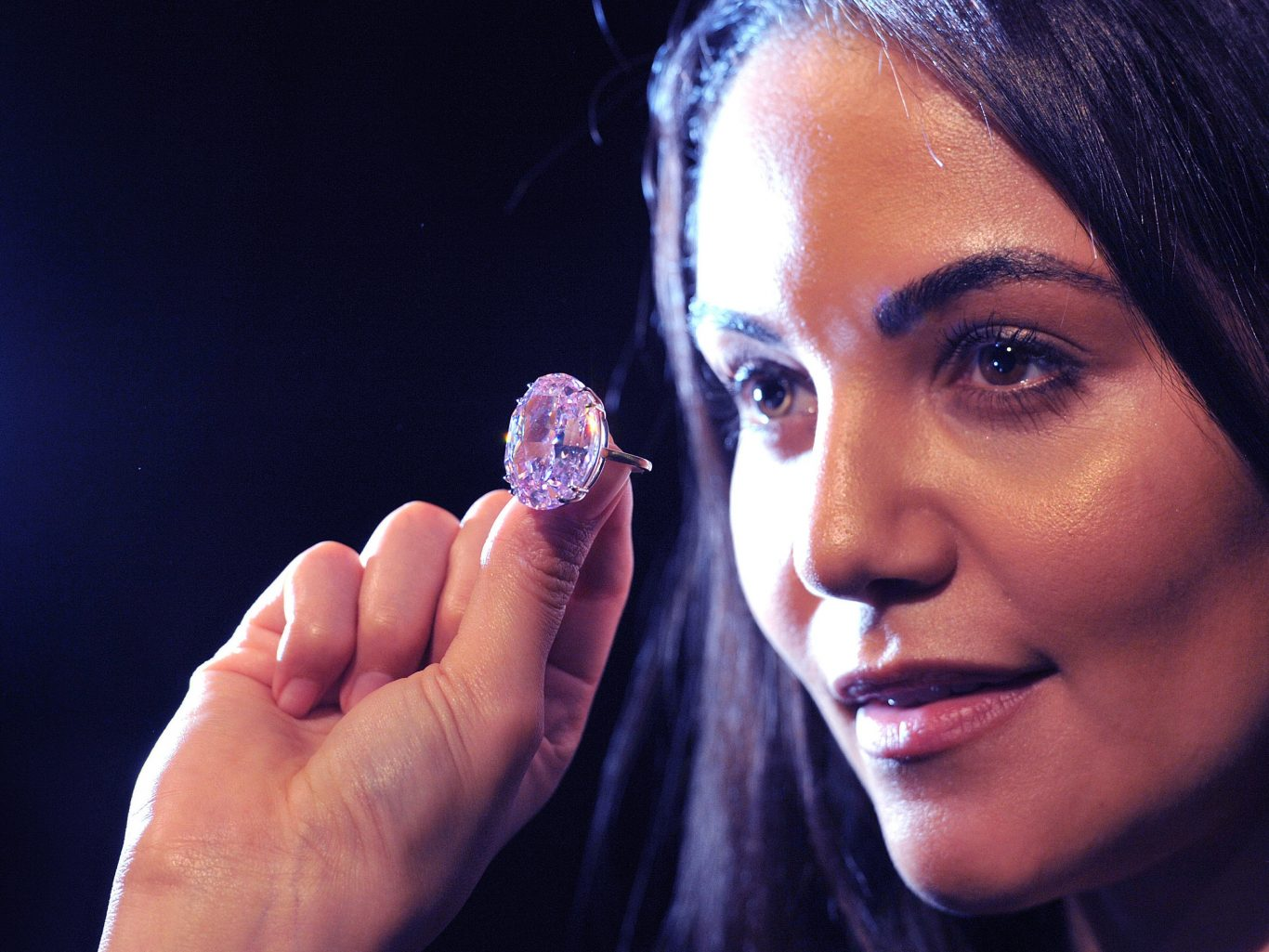 The Pink Star was mined in Africa by De Beers in 1999