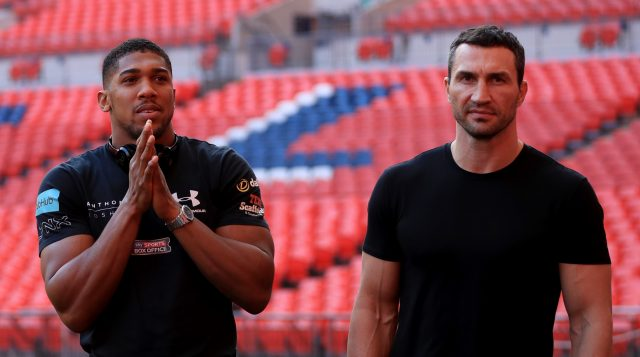 Joshua and Klitschko are expected to attract a record crowd (John Walton/PA)