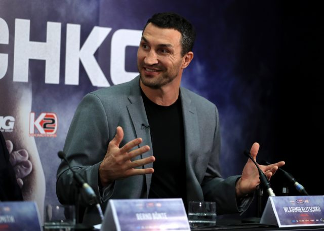 Wladimir Klitschko thinks he has too much for Anthony Joshua (John Walton/PA)