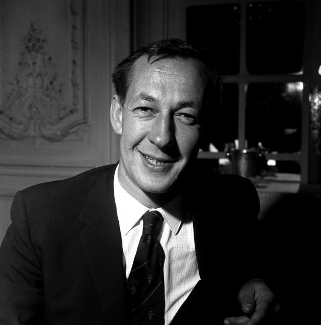 Radio 2 presenter Brian Matthew in 1962 (PA)