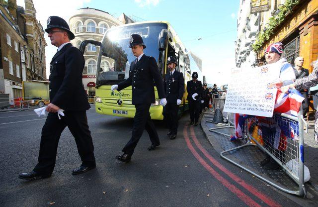 Dorset Police pay respects to fallen colleague PC Keith Palmer