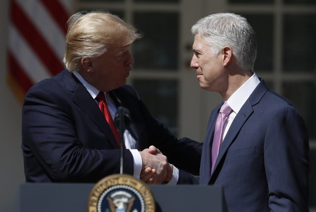 Trump on Gorsuch: 'I Got It Done in the First 100 Days'