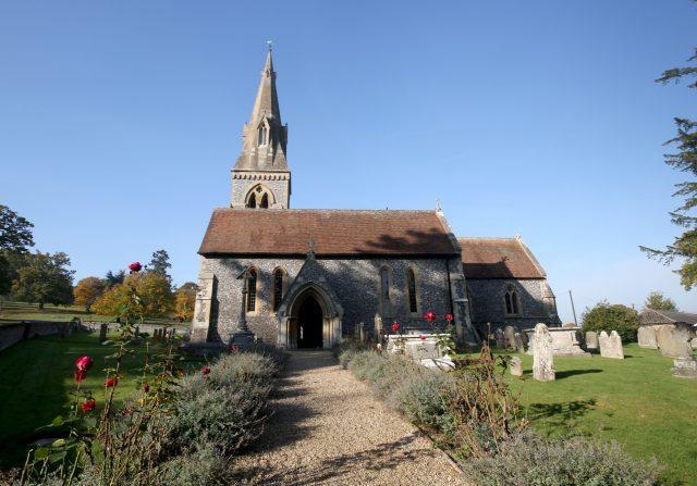 St Mark's church in Englefield, Berkshire