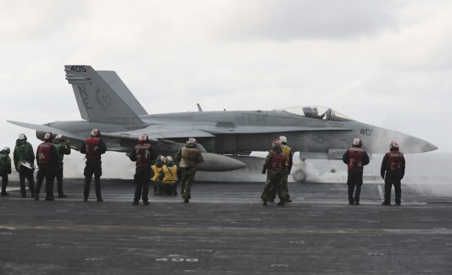 Navy sends strike group toward Korean peninsula