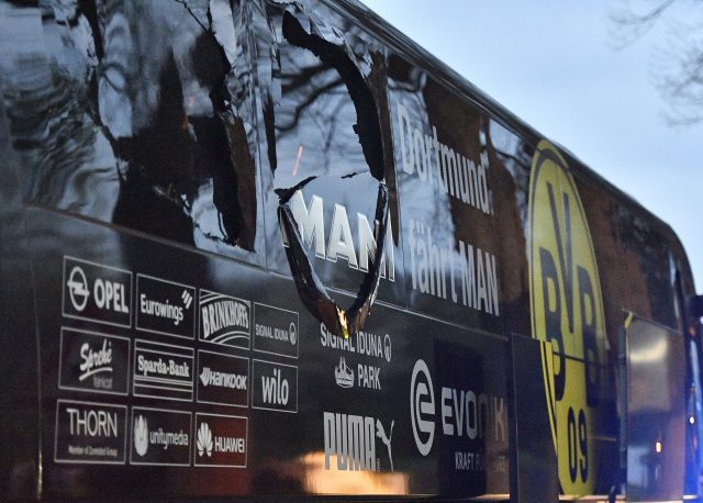 Monaco beat Dortmund 3-2 day after bus attack