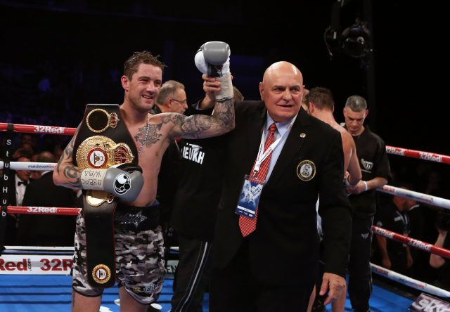 Ricky Burns won the WBA Super Lightweight World Championship title in Glasgow in 2016 (Scott Heppell/PA)