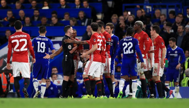 Chelsea's Title Charge Threatens United's Unbeaten Run Sunday