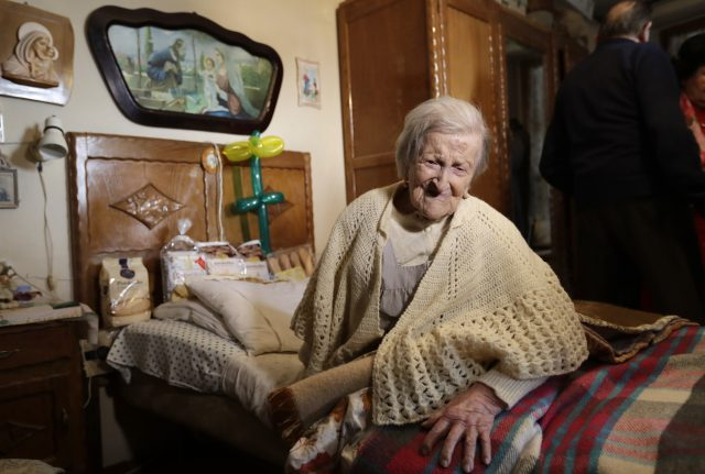 World's oldest person dies aged 117 in Italy