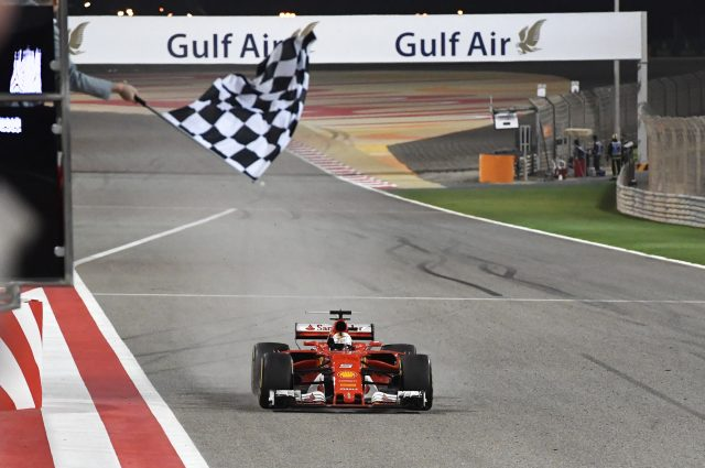 Vettel Wins Second Race Of The Year For Ferrari At Bahrain