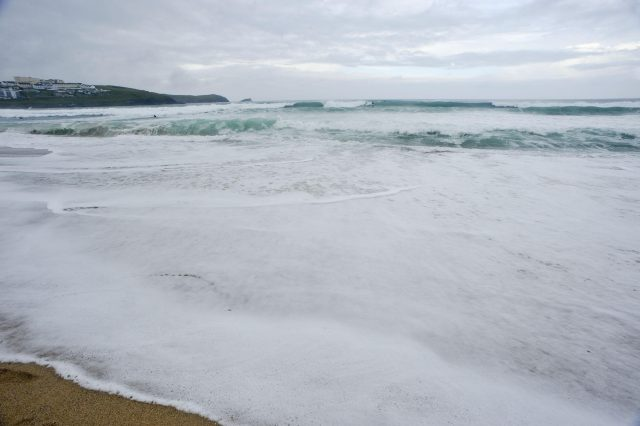 Freak wave swept father and toddler into sea on family holiday
