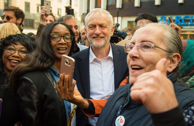 Labour leader says UK election 'establishment vs people'