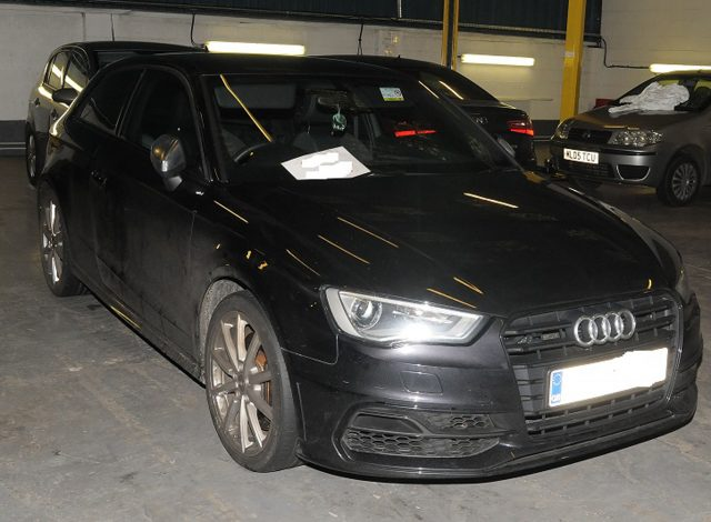 An Audi used by seven gang members (Merseyside Police/PA)