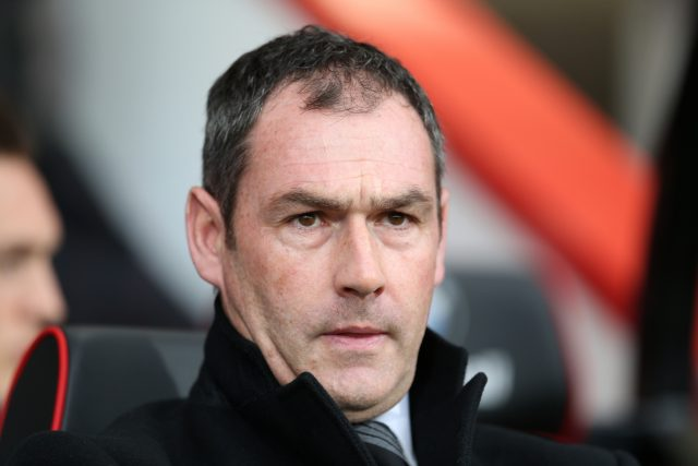Swansea manager Paul Clement (Steven Paston/PA)