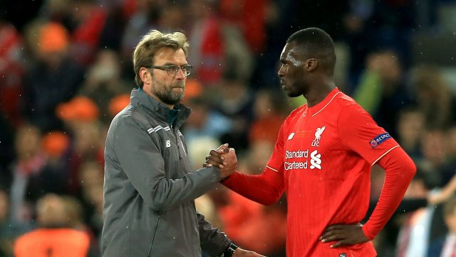 Jurgen Klopp is well aware of the threat from Christian Benteke