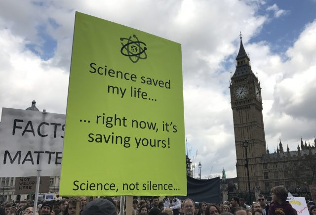 Scientists send global message: 'March for Science'