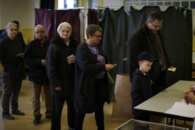 Massive Security As France Goes To The Polls