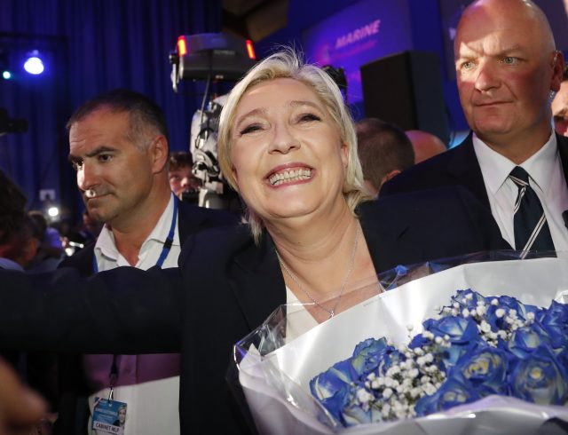 Pollsters project Macron vs. Le Pen in French presidential runoff