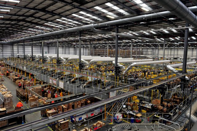 1200 jobs in store at new Amazon warehouse in Warrington