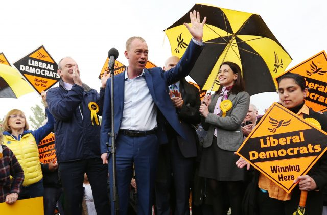 Tim Farron vows to fight for public vote on Brexit deal