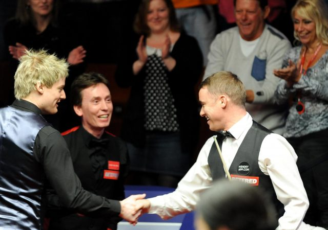 Mark Selby believes John Higgins' example could help him match Stephen Hendry