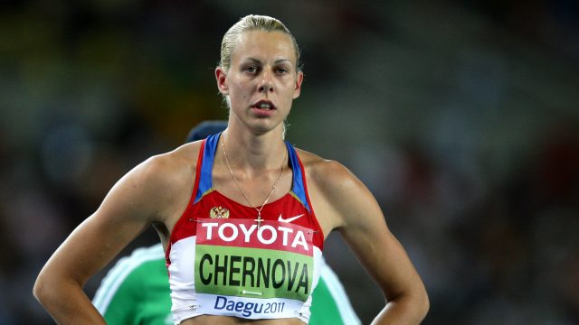 Tatyana Chernova is one of several Russian athletes to have been stripped of medals (Dave Thompson/PA)