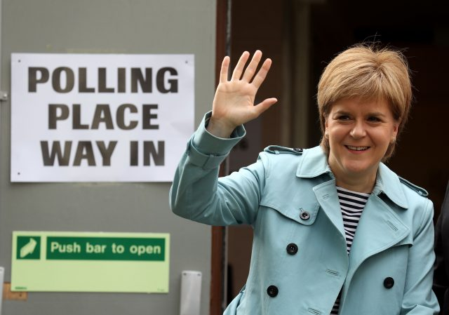 Nicola Sturgeon hails 'emphatic' SNP election results