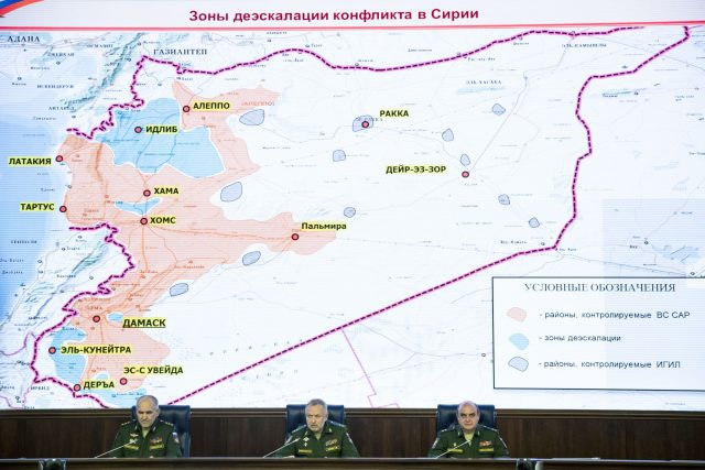 Russia: US Welcomed Syria De-Escalation Zones Deal, Has All Information on Memorandum