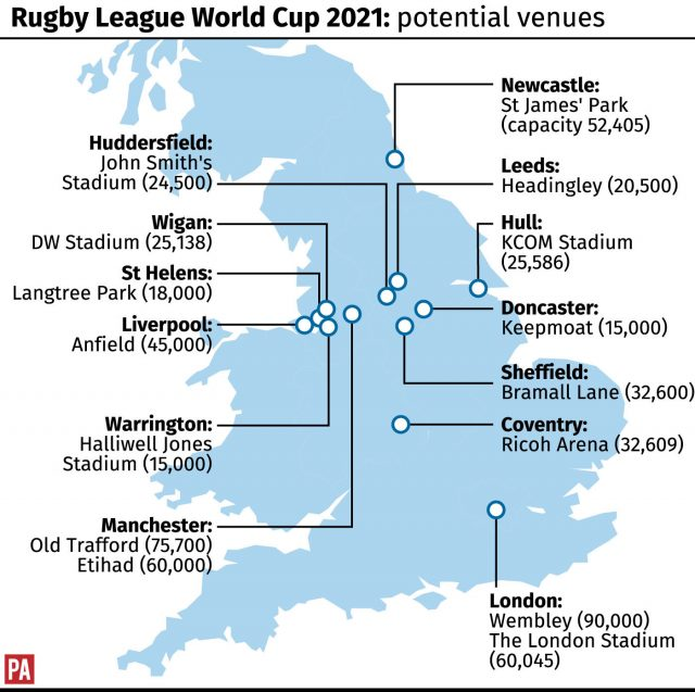 Return of Lions and Kangaroos tours announced by rugby league chiefs