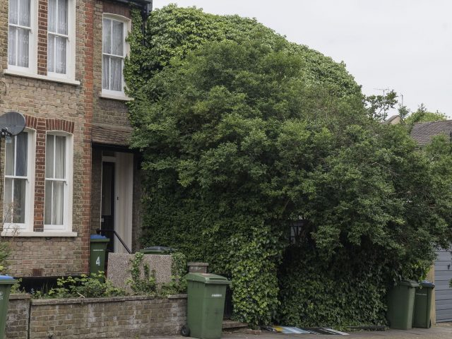 The property on Ruthin Road in Blackheath, London (Victoria Jones/PA)