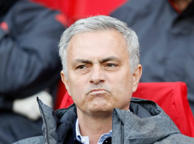 Jose Mourinho reacting to the drama. (EMPICS)