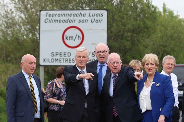EU chief Brexit negotiator Michel Barnier visited the Irish border this week (Liam McBurney/PA)