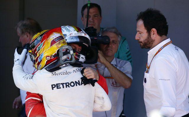 Hamilton delights in Spanish victory