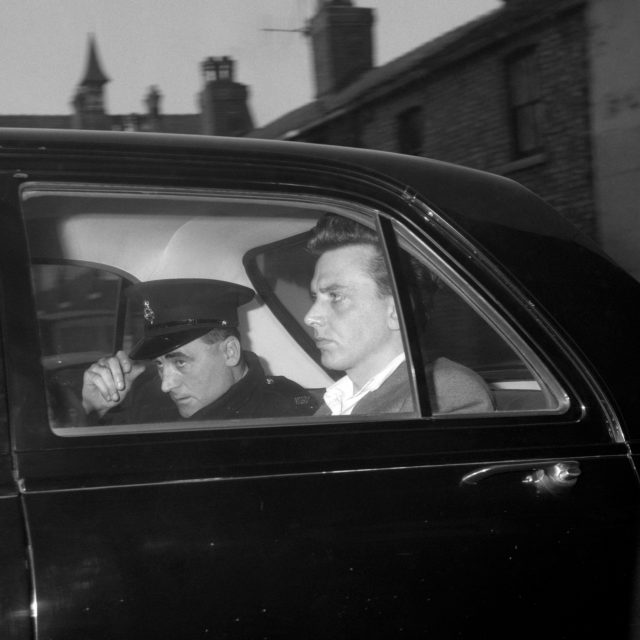 Moors Murderer Ian Brady in 1965 , while in police custody prior to his court appearance  (PA)