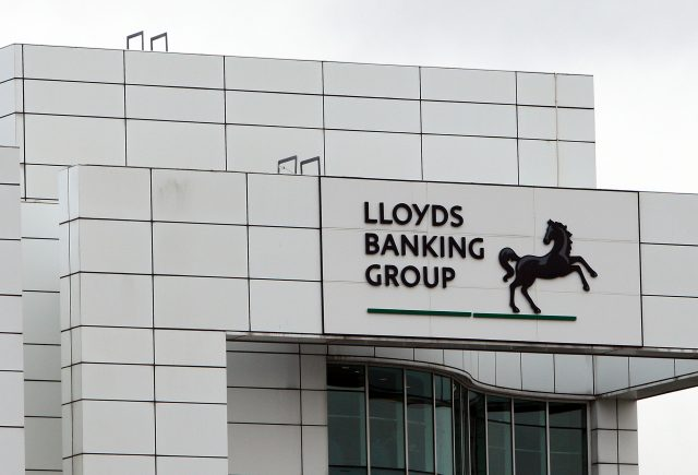 A general view of the Lloyds Banking group Building