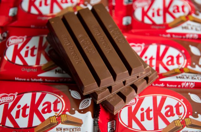 Nestle fails to trademark four-fingered KitKat bar