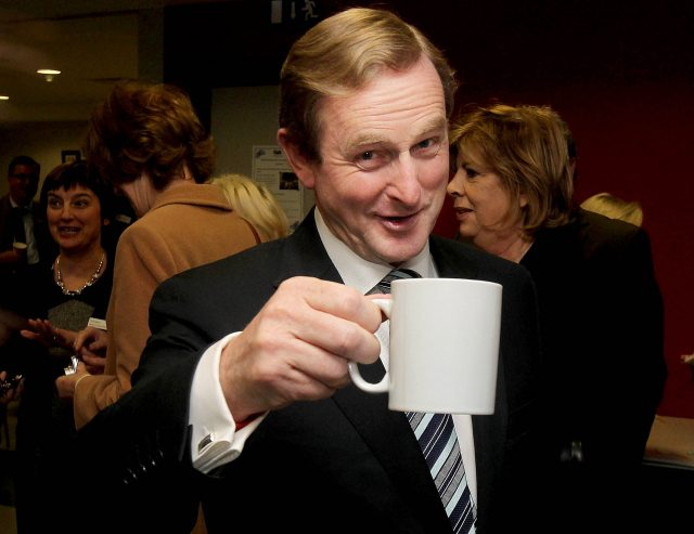 Enda Kenny announces resignation as Fine Gael leader