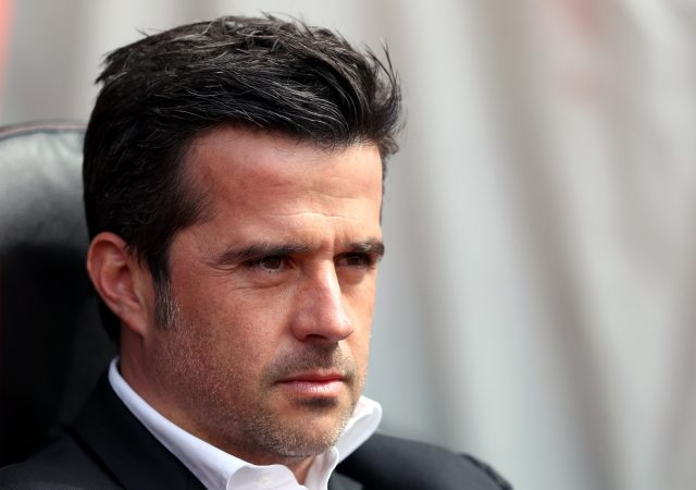 Marco Silva watches on