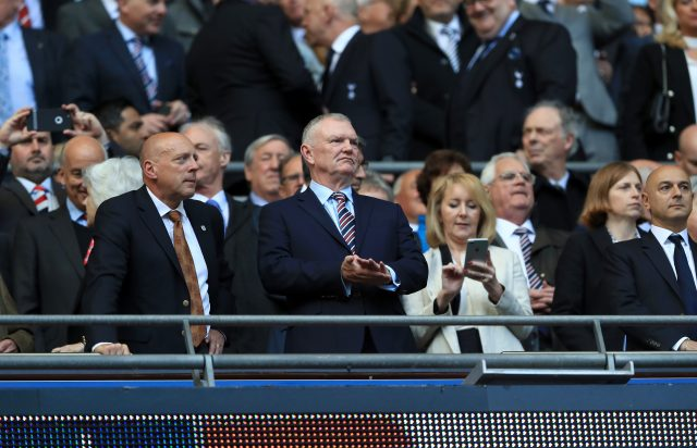 FA chairman Greg Clarke (John Walton/PA)
