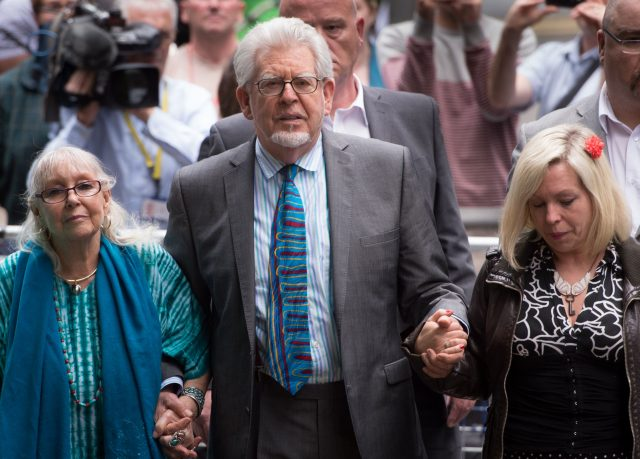 Rolf Harris released from Stafford Prison