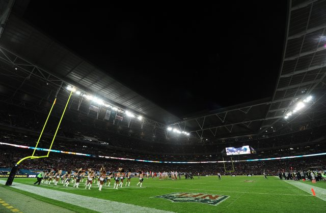 There have been 17 NFL games in London with four more on the slate for this year (Andrew Matthews/PA)