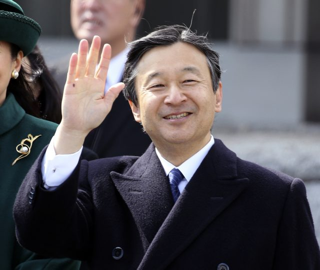 Japan's Crown Prince Naruhito will succeed his father (Shizuo Kambayashi/AP)