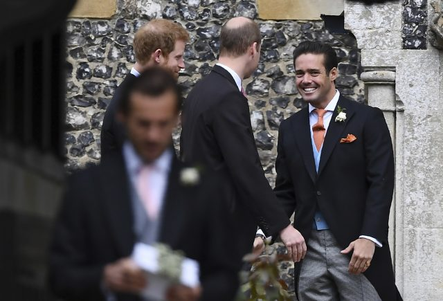 Pippa Middleton arrives at church to marry James Matthews