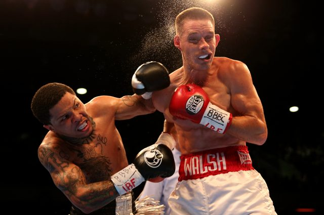Liam Walsh (right) and Gervonta Davis