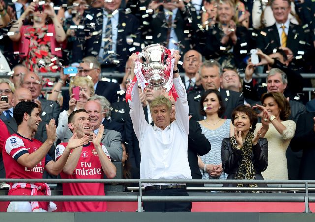 Arsenal manager Arsene Wenger has won the FA Cup six times