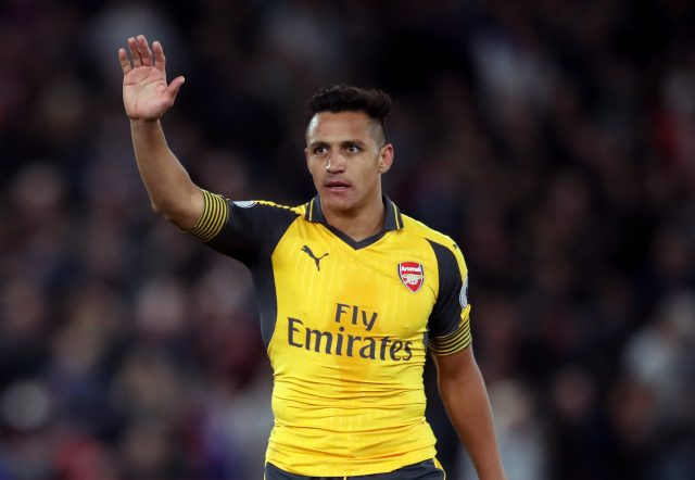Alexis Sanchez could be leaving Arsenal this summer (Nick Potts/PA)