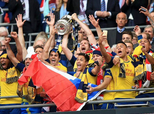 Arsenal have won two of the last three FA Cup finals