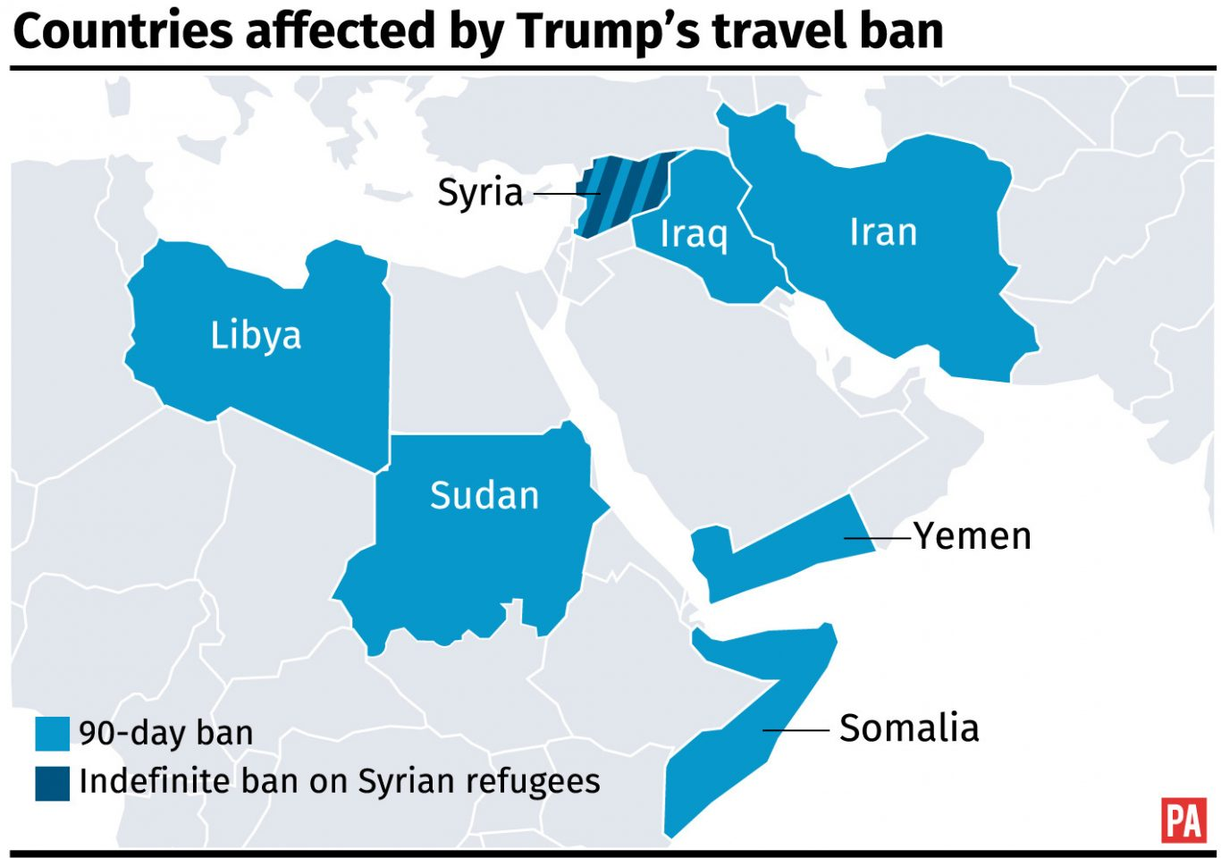 United States court maintains block on Trump travel ban